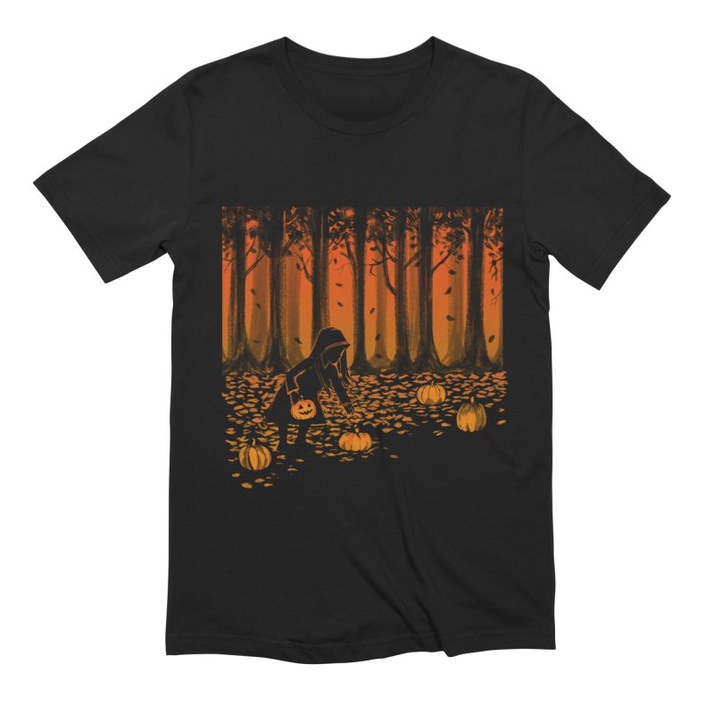 PICKIN' PUMPKIN Men's Extra Soft T-Shirt by Winterglaze's Artist Shop