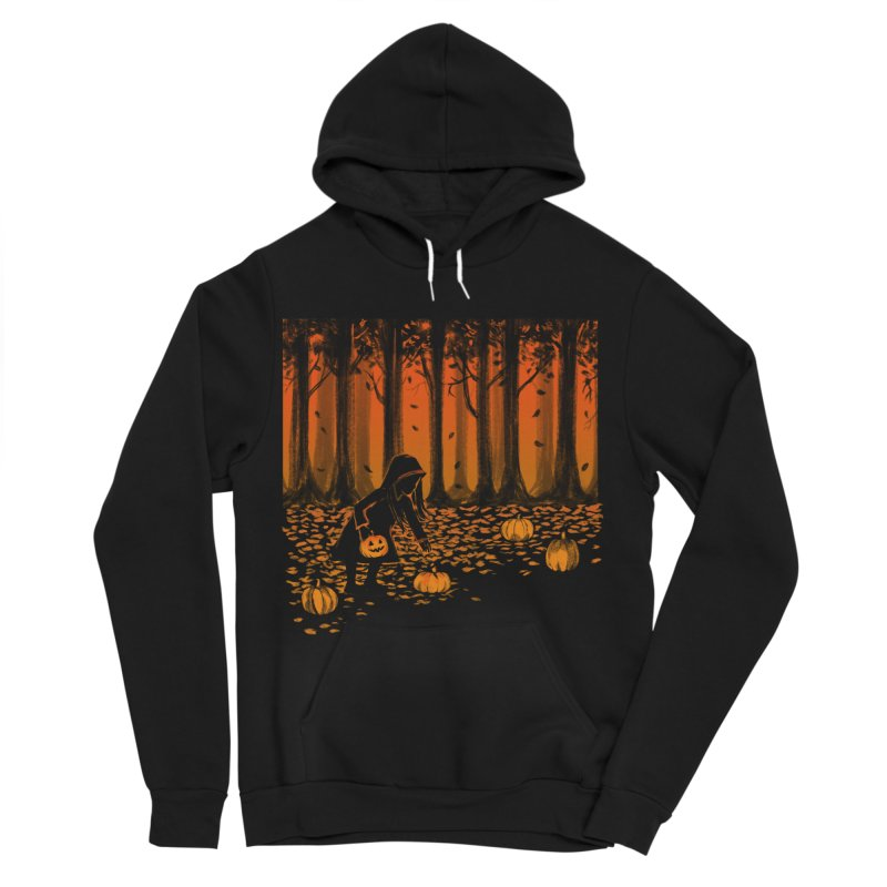 PICKIN' PUMPKIN Men's Sponge Fleece Pullover Hoody by Winterglaze's Artist Shop