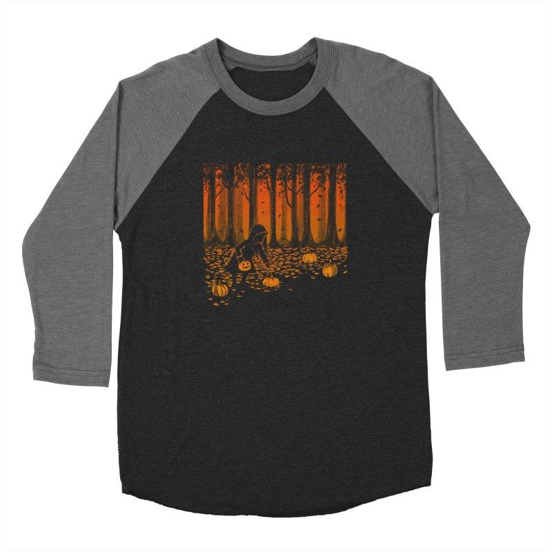 PICKIN' PUMPKIN Women's Baseball Triblend Longsleeve T-Shirt by Winterglaze's Artist Shop