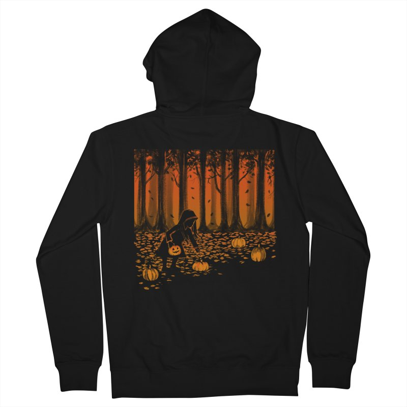 PICKIN' PUMPKIN Men's French Terry Zip-Up Hoody by Winterglaze's Artist Shop