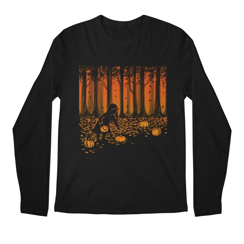 PICKIN' PUMPKIN Men's Regular Longsleeve T-Shirt by Winterglaze's Artist Shop