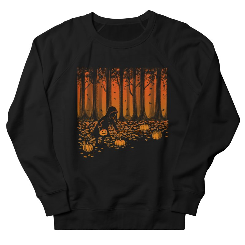 PICKIN' PUMPKIN Women's French Terry Sweatshirt by Winterglaze's Artist Shop