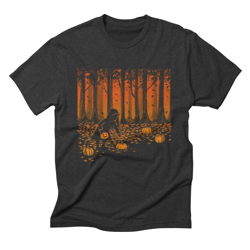 PICKIN' PUMPKIN Men's Triblend T-Shirt by Winterglaze's Artist Shop