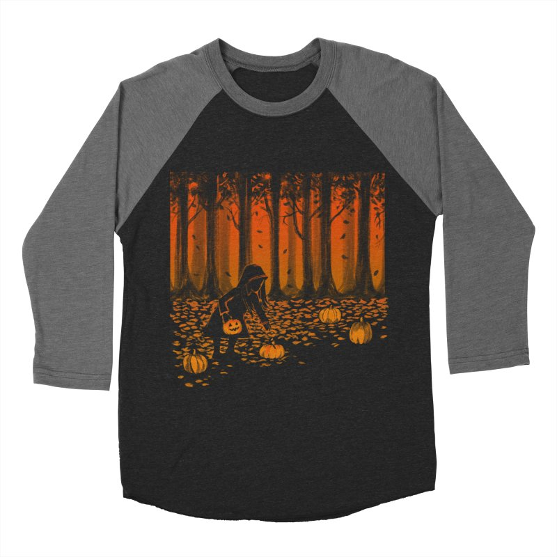 PICKIN' PUMPKIN Women's Baseball Triblend Longsleeve T-Shirt by Winterglaze's Artist Shop