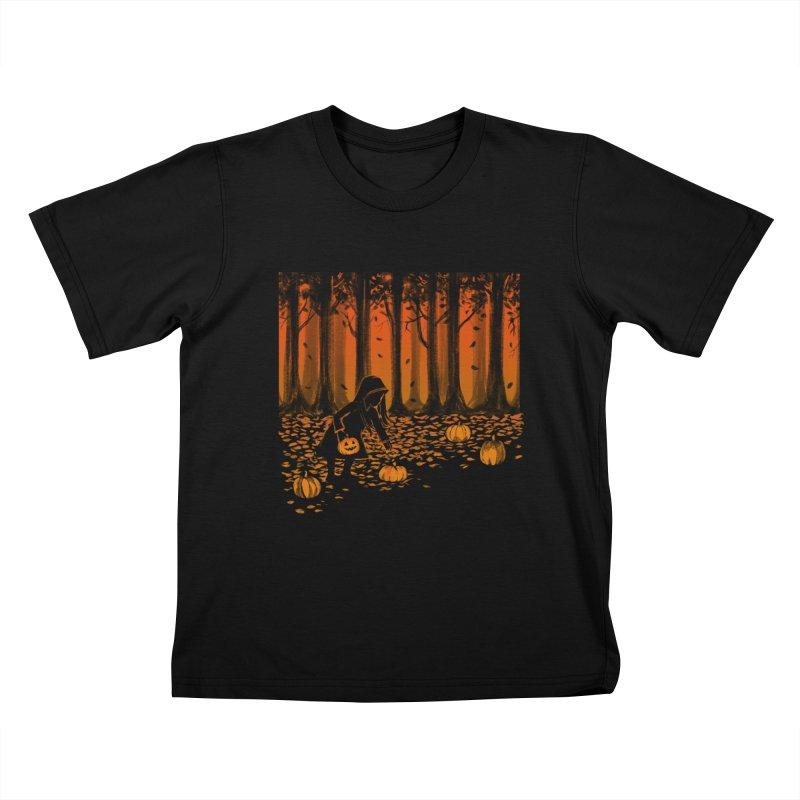 PICKIN' PUMPKIN Kids T-Shirt by Winterglaze's Artist Shop