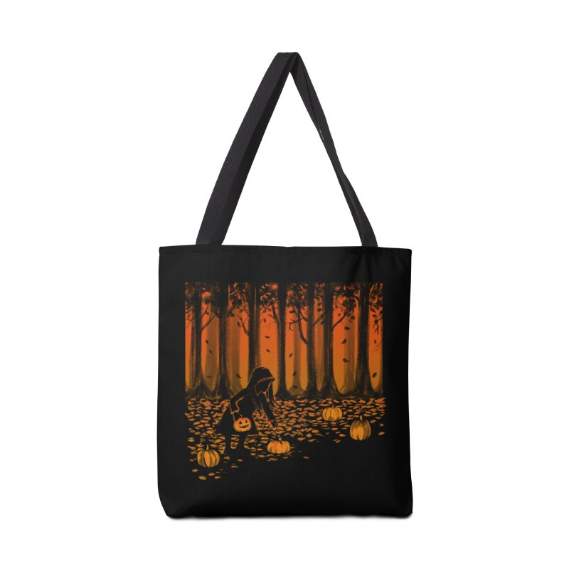 PICKIN' PUMPKIN Accessories Bag by Winterglaze's Artist Shop