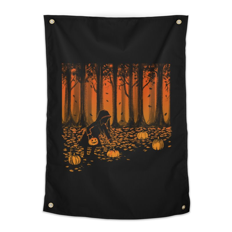PICKIN' PUMPKIN Home Tapestry by Winterglaze's Artist Shop