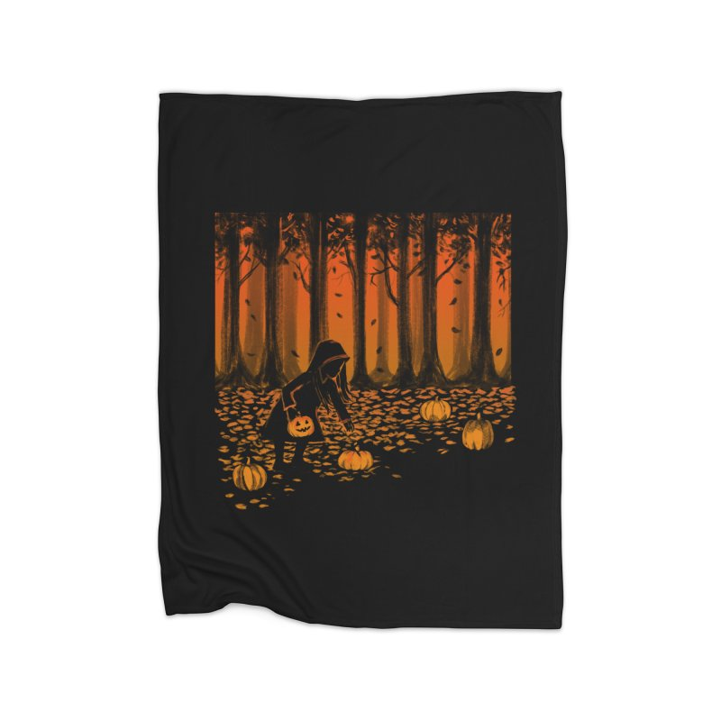 PICKIN' PUMPKIN Home Blanket by Winterglaze's Artist Shop