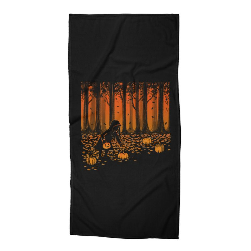 PICKIN' PUMPKIN Accessories Beach Towel by Winterglaze's Artist Shop