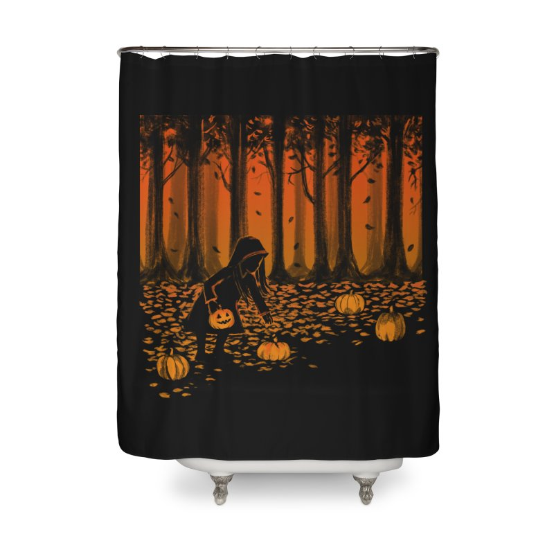 PICKIN' PUMPKIN Home Shower Curtain by Winterglaze's Artist Shop