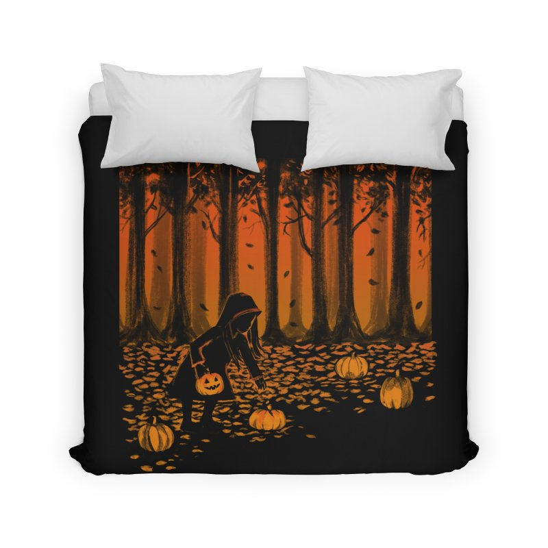 PICKIN' PUMPKIN Home Duvet by Winterglaze's Artist Shop