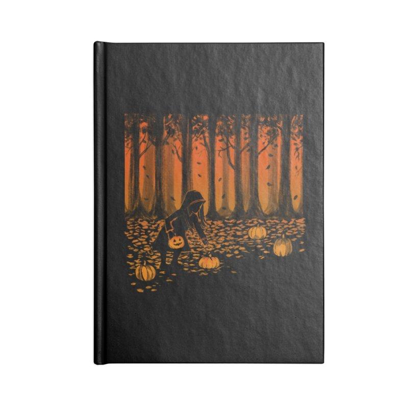 PICKIN' PUMPKIN Accessories Lined Journal Notebook by Winterglaze's Artist Shop
