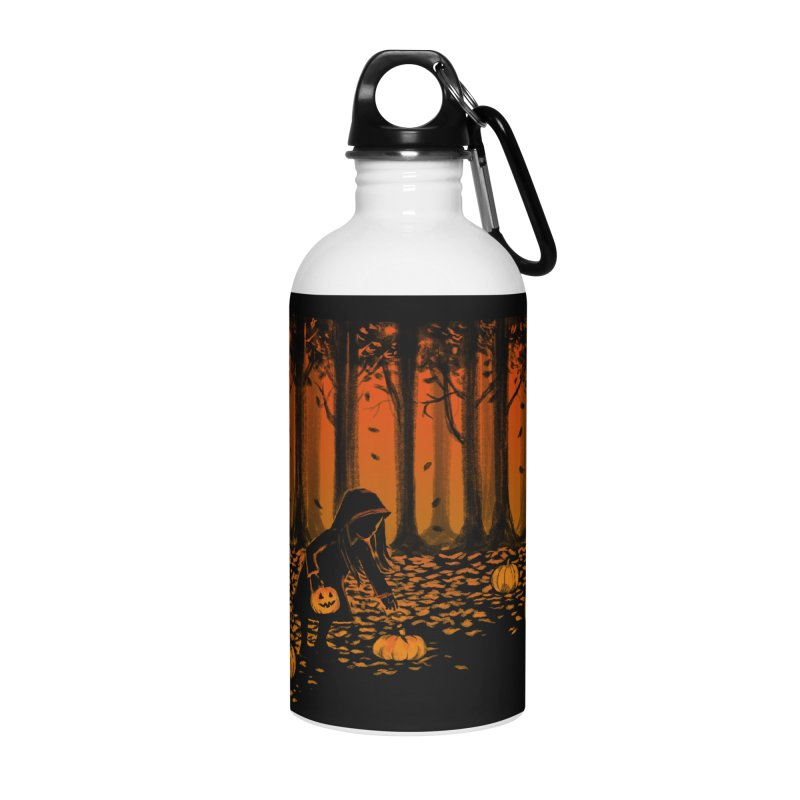 PICKIN' PUMPKIN Accessories Water Bottle by Winterglaze's Artist Shop