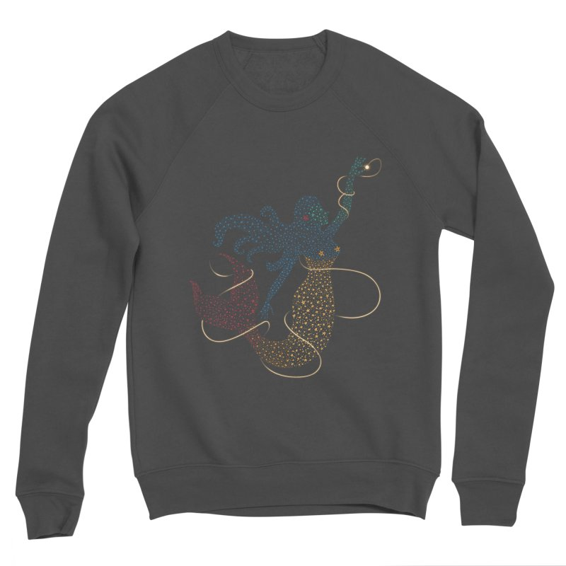 FINDING ATLANTIS Men's Sponge Fleece Sweatshirt by Winterglaze's Artist Shop