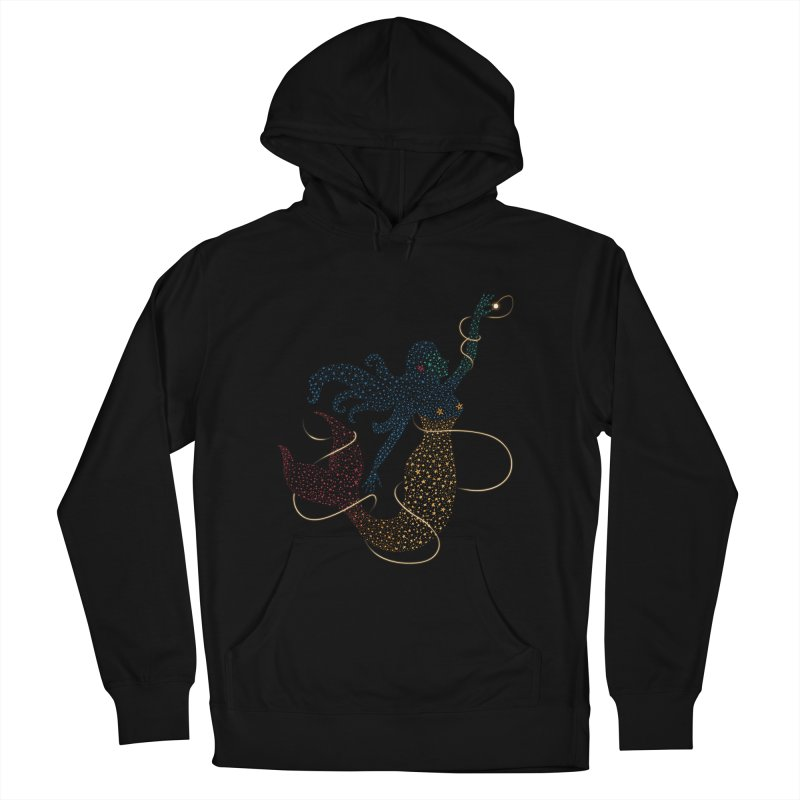 FINDING ATLANTIS Women's French Terry Pullover Hoody by Winterglaze's Artist Shop