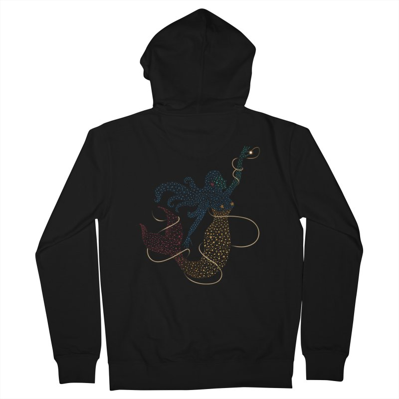 FINDING ATLANTIS Women's French Terry Zip-Up Hoody by Winterglaze's Artist Shop