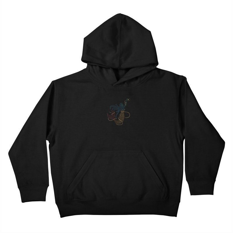 FINDING ATLANTIS Kids Pullover Hoody by Winterglaze's Artist Shop