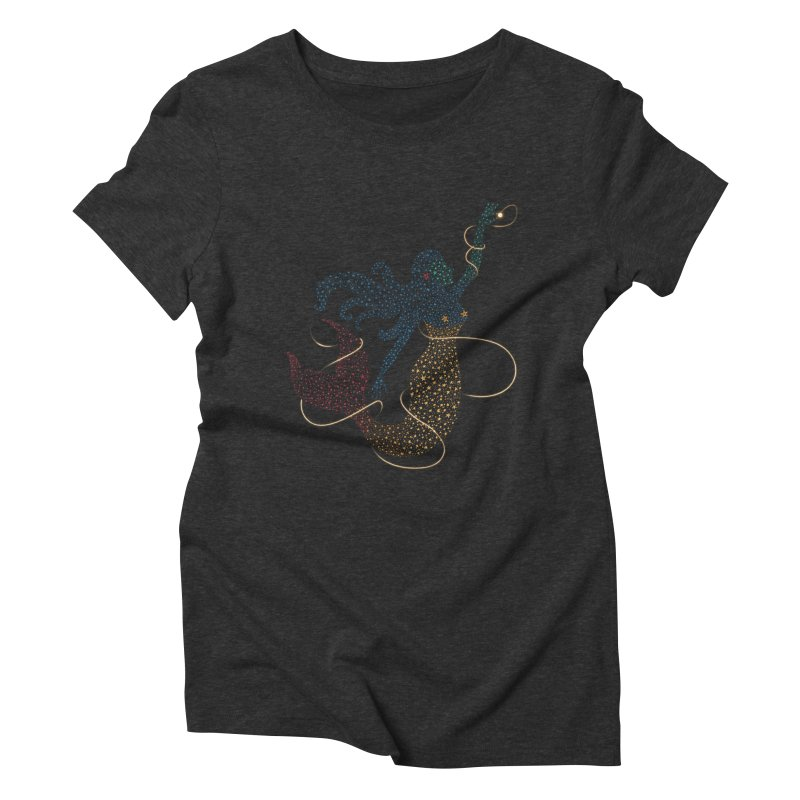 FINDING ATLANTIS Women's Triblend T-Shirt by Winterglaze's Artist Shop