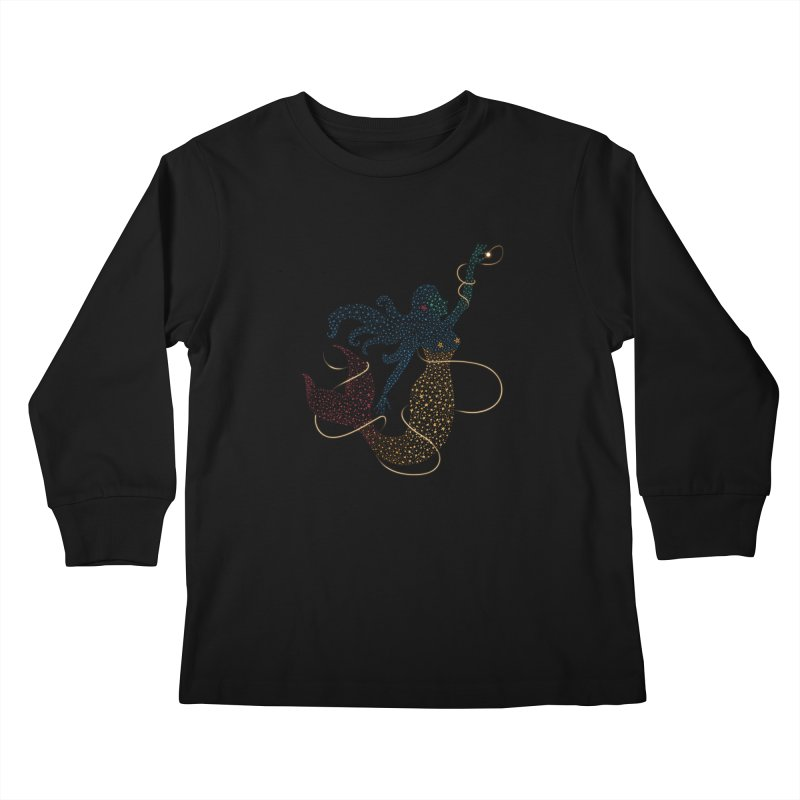 FINDING ATLANTIS Kids Longsleeve T-Shirt by Winterglaze's Artist Shop