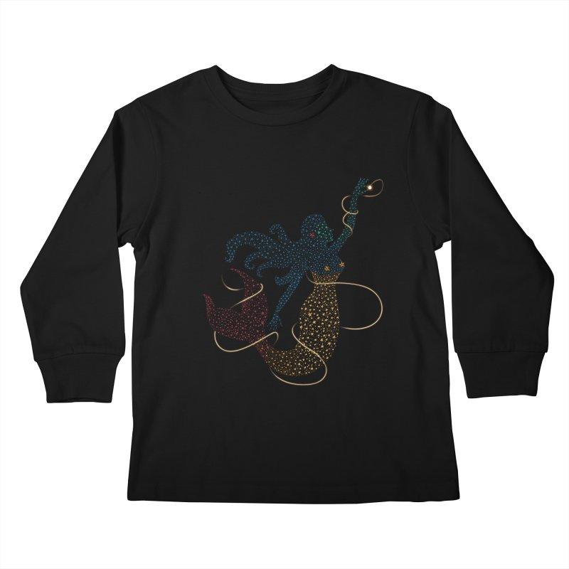 FINDING ATLANTIS Kids Longsleeve T-Shirt by Winterglaze's Artist Shop