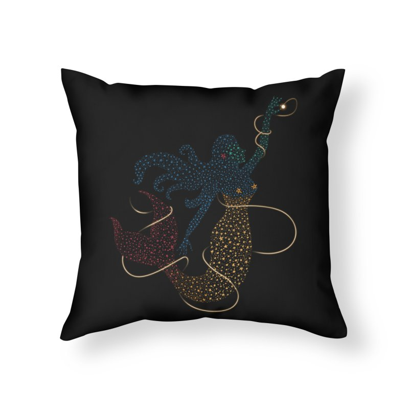 FINDING ATLANTIS Home Throw Pillow by Winterglaze's Artist Shop