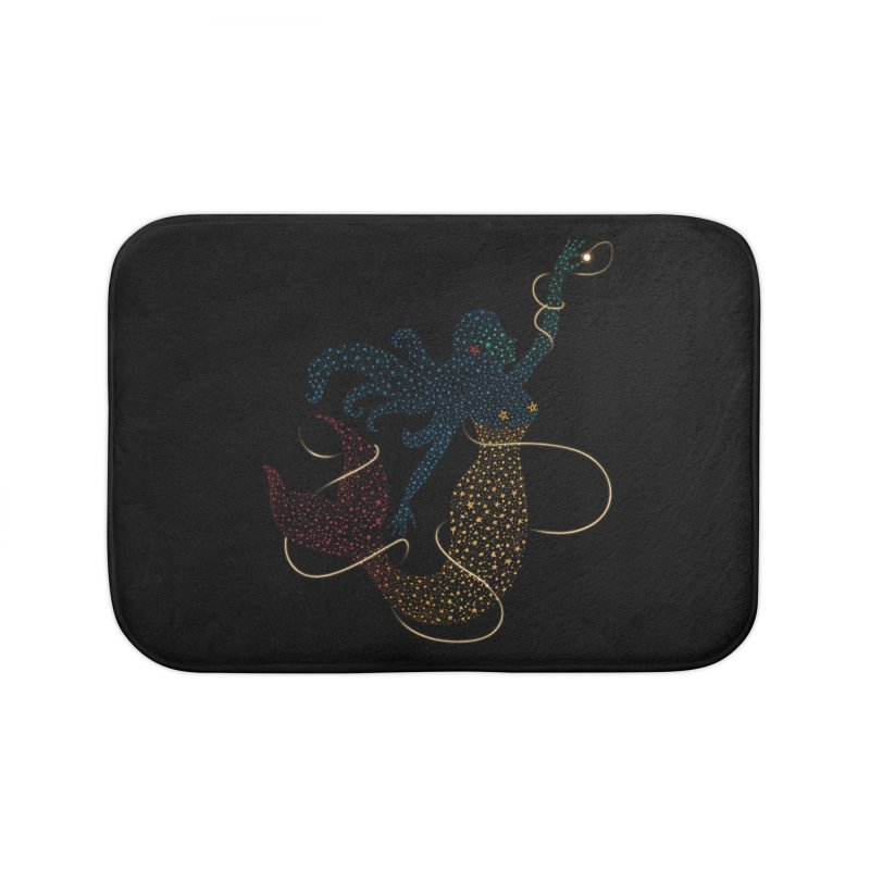FINDING ATLANTIS Home Bath Mat by Winterglaze's Artist Shop