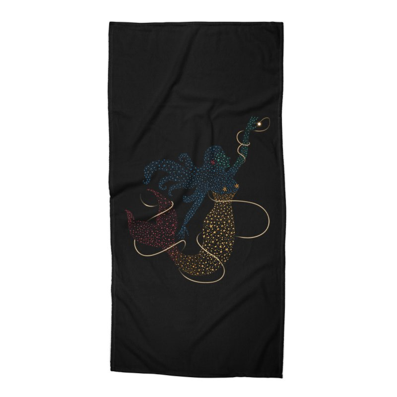 FINDING ATLANTIS Accessories Beach Towel by Winterglaze's Artist Shop