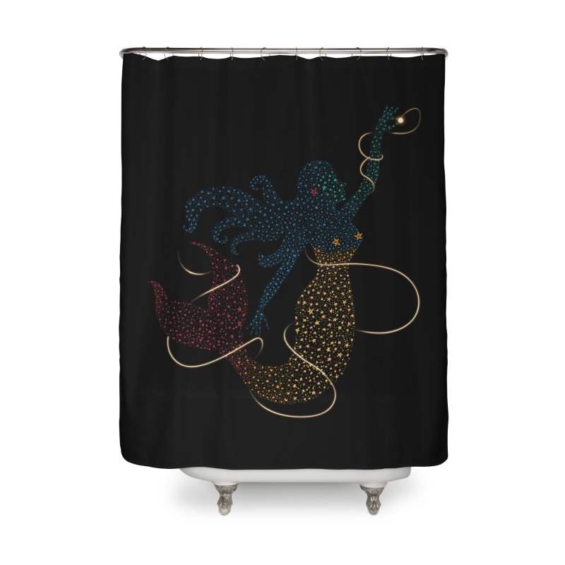 FINDING ATLANTIS Home Shower Curtain by Winterglaze's Artist Shop