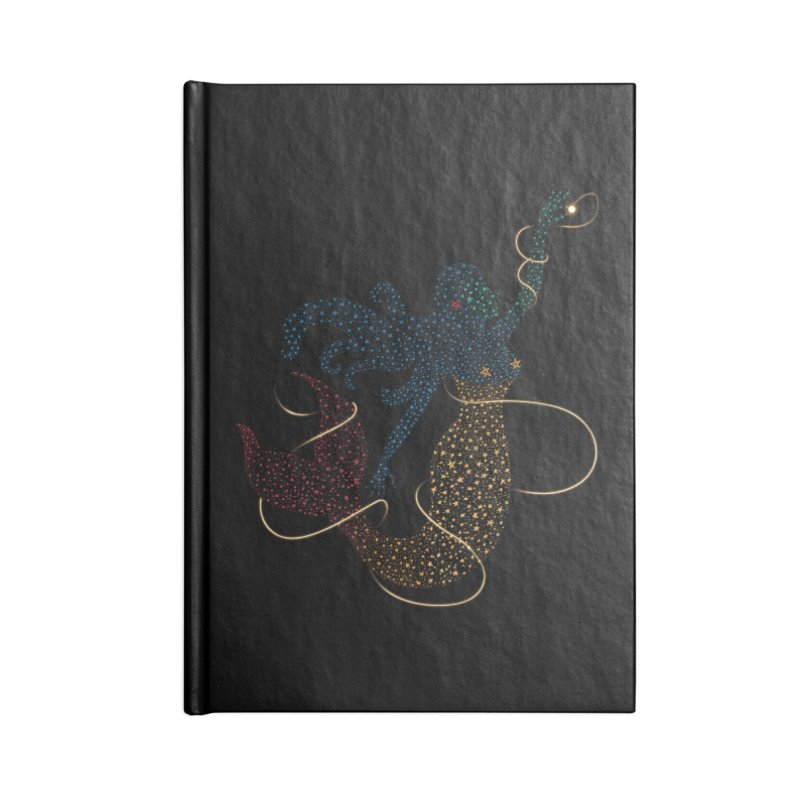 FINDING ATLANTIS Accessories Lined Journal Notebook by Winterglaze's Artist Shop