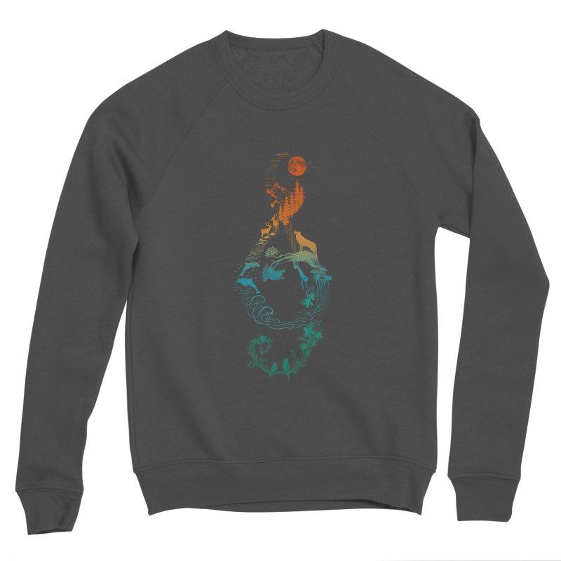 SOUND OF NATURE Women's Sponge Fleece Sweatshirt by Winterglaze's Artist Shop