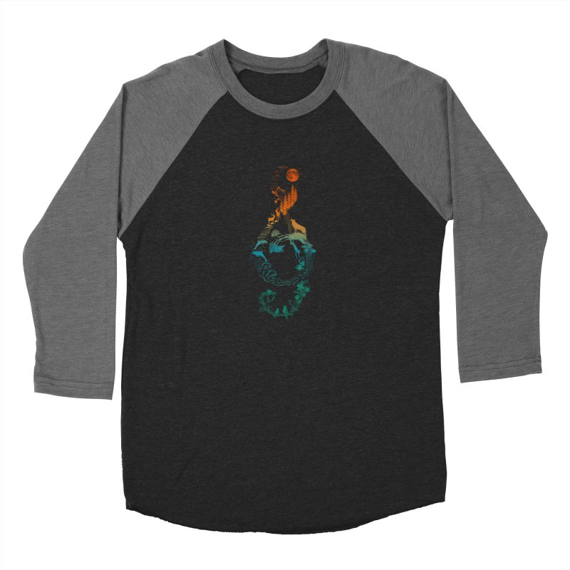 SOUND OF NATURE Men's Baseball Triblend Longsleeve T-Shirt by Winterglaze's Artist Shop