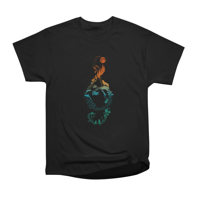 SOUND OF NATURE Men's T-Shirt by Winterglaze's Artist Shop