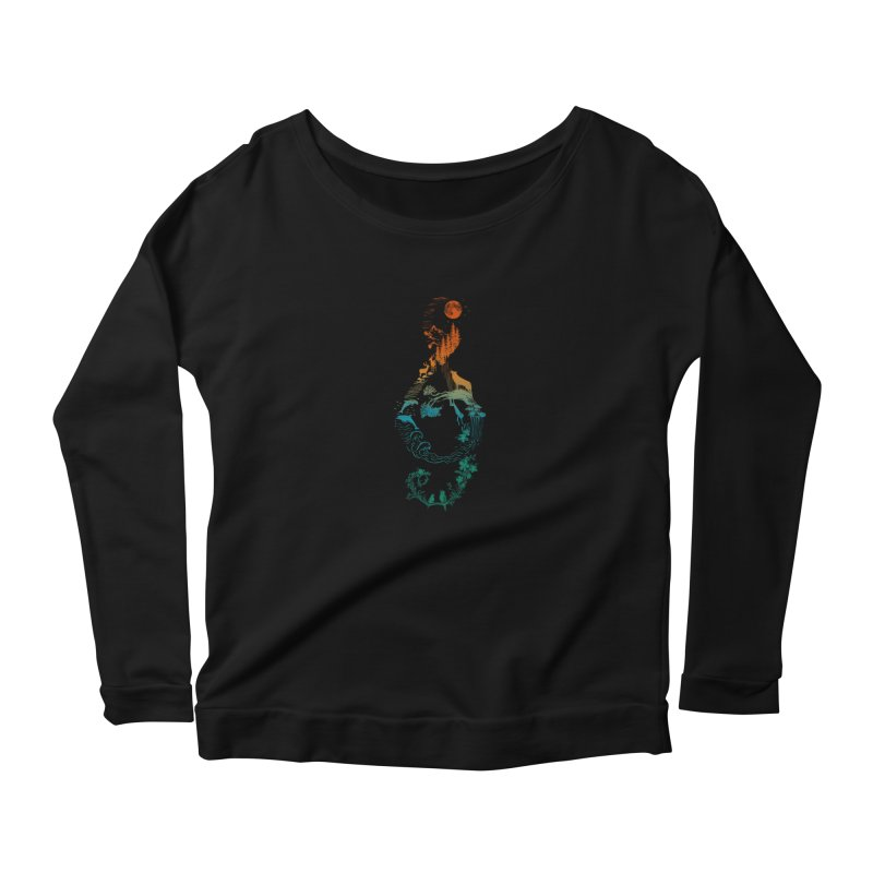 SOUND OF NATURE Women's Longsleeve T-Shirt by Winterglaze's Artist Shop
