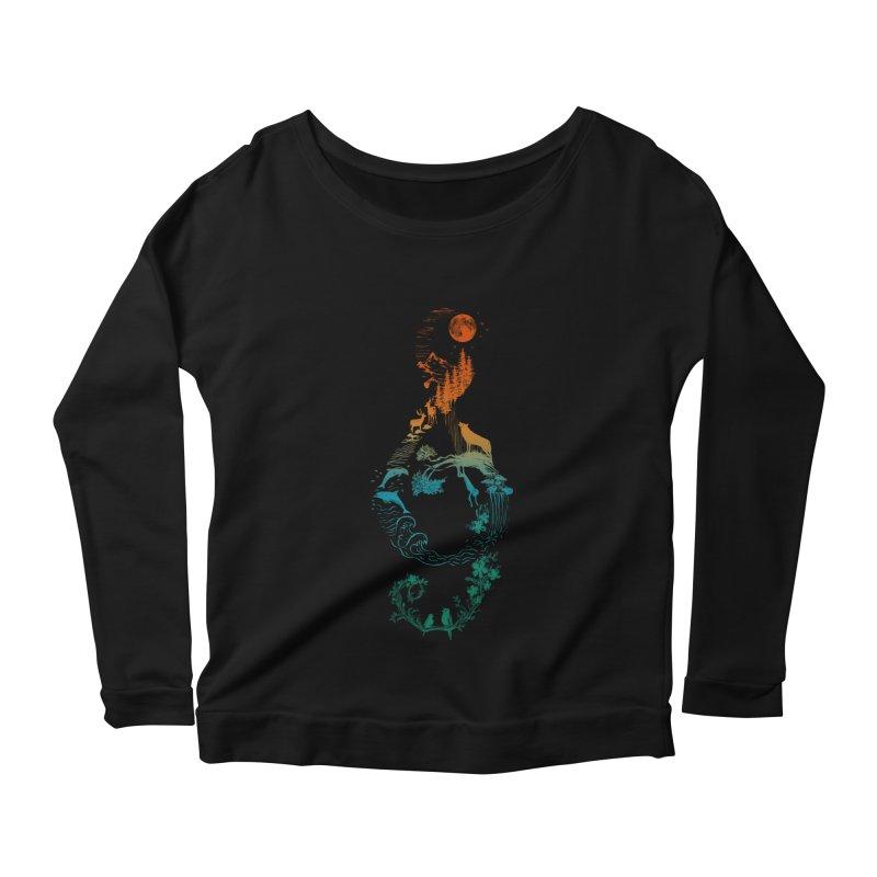 SOUND OF NATURE Women's Longsleeve T-Shirt by Winterglaze's Artist Shop