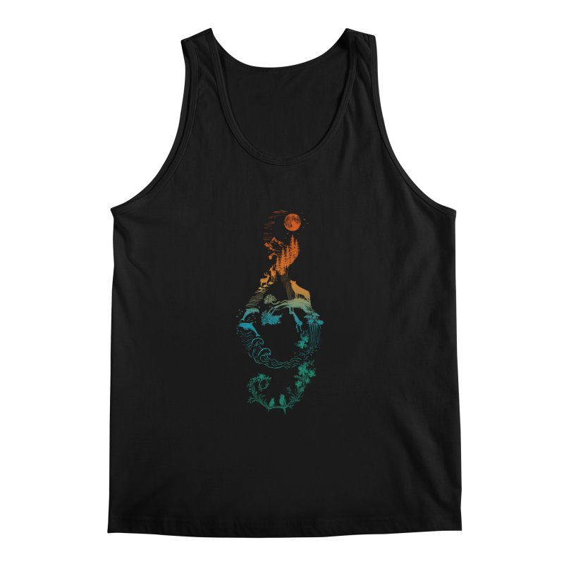 SOUND OF NATURE Men's Regular Tank by Winterglaze's Artist Shop