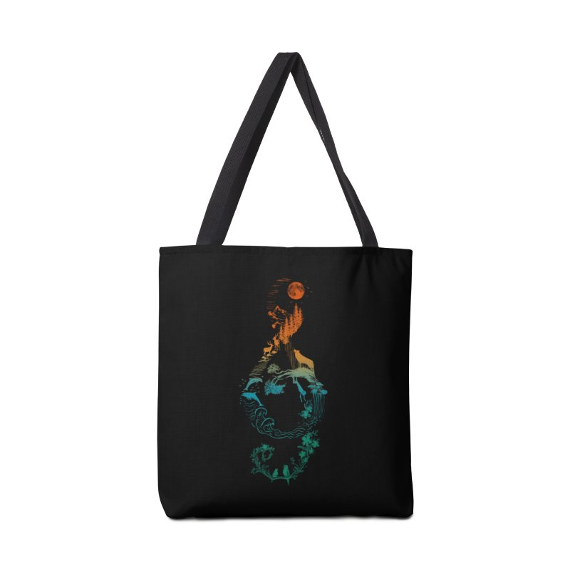 SOUND OF NATURE Accessories Tote Bag Bag by Winterglaze's Artist Shop