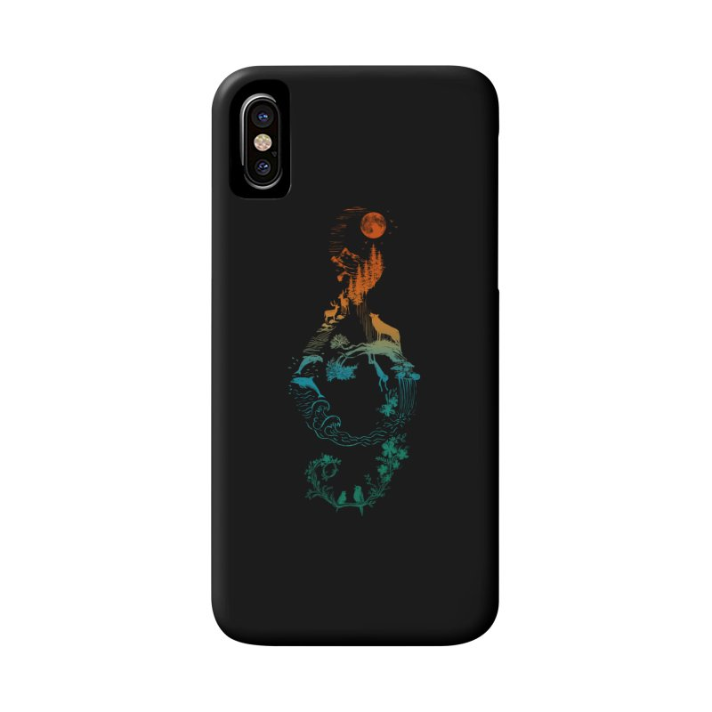SOUND OF NATURE Accessories Phone Case by Winterglaze's Artist Shop
