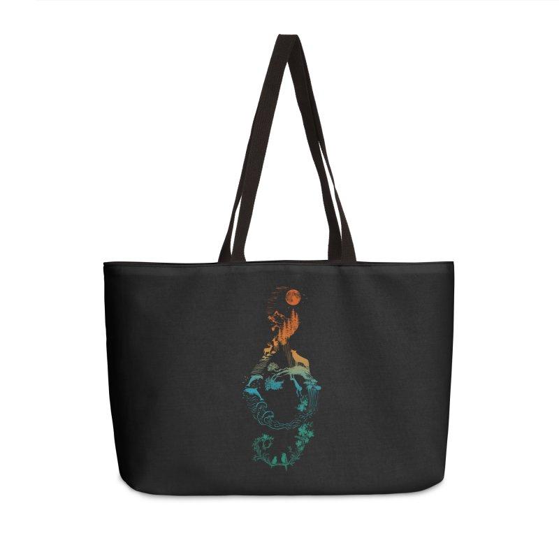 SOUND OF NATURE Accessories Weekender Bag Bag by Winterglaze's Artist Shop
