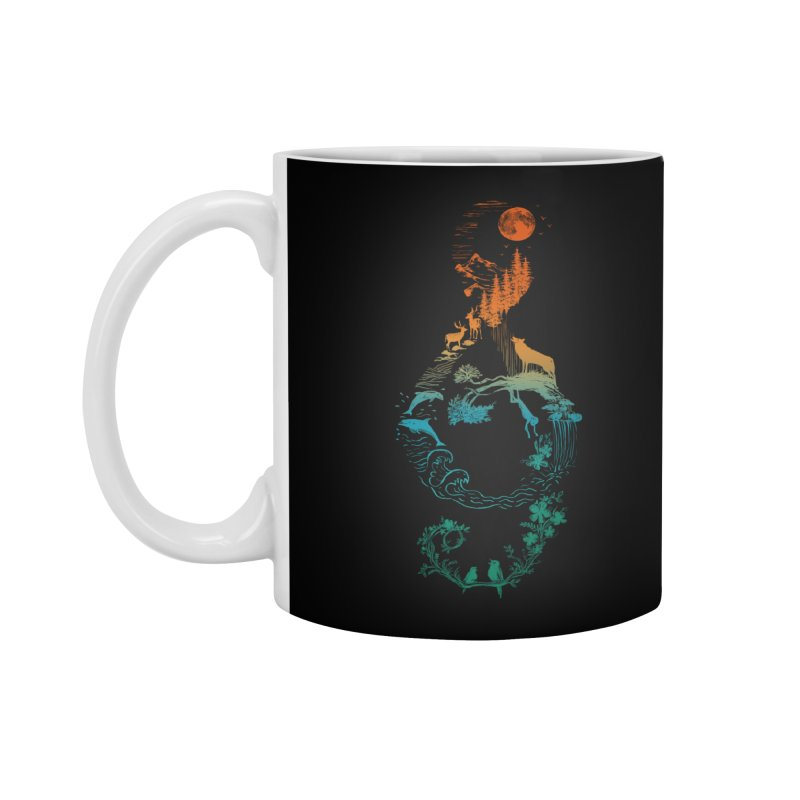 SOUND OF NATURE Accessories Mug by Winterglaze's Artist Shop
