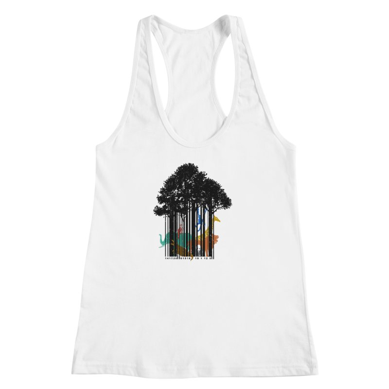 NOT FOR SALE Women's Racerback Tank by Winterglaze's Artist Shop