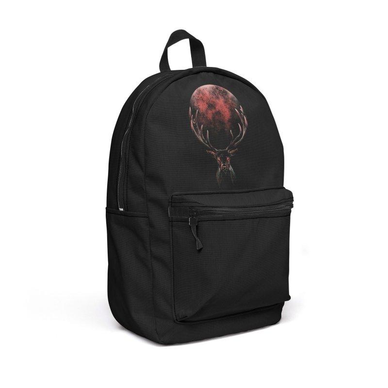 FULL MOON Accessories Backpack Bag by Winterglaze's Artist Shop