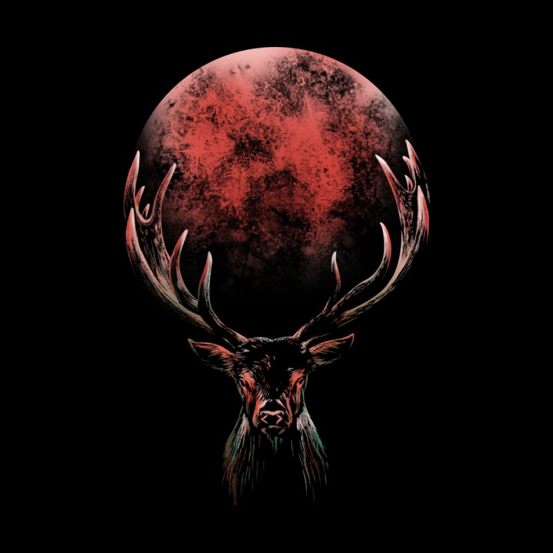 FULL MOON Men's T-Shirt by Winterglaze's Artist Shop