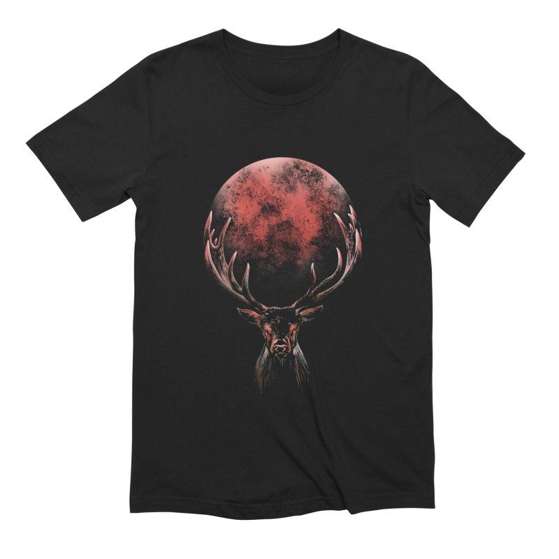 FULL MOON Men's Extra Soft T-Shirt by Winterglaze's Artist Shop