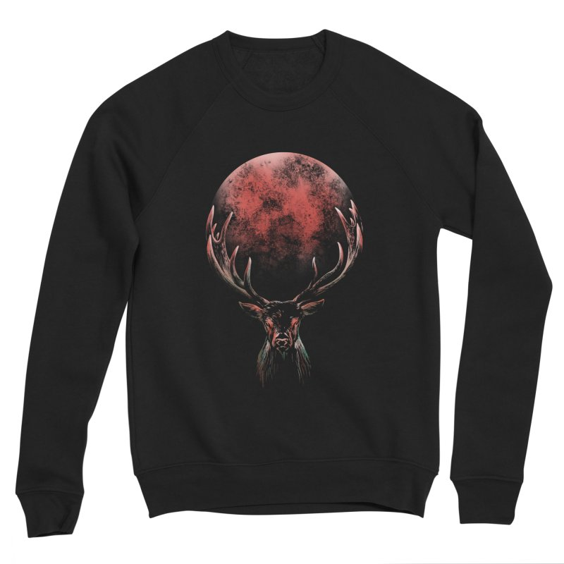 FULL MOON Men's Sponge Fleece Sweatshirt by Winterglaze's Artist Shop