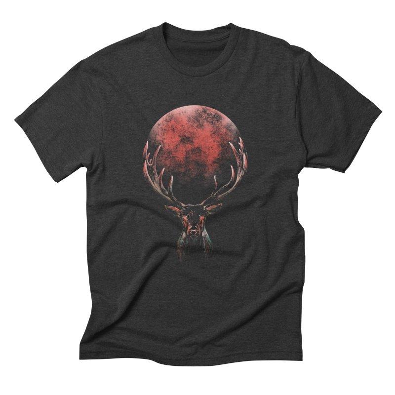 FULL MOON Men's T-Shirt by Winterglaze's Artist Shop