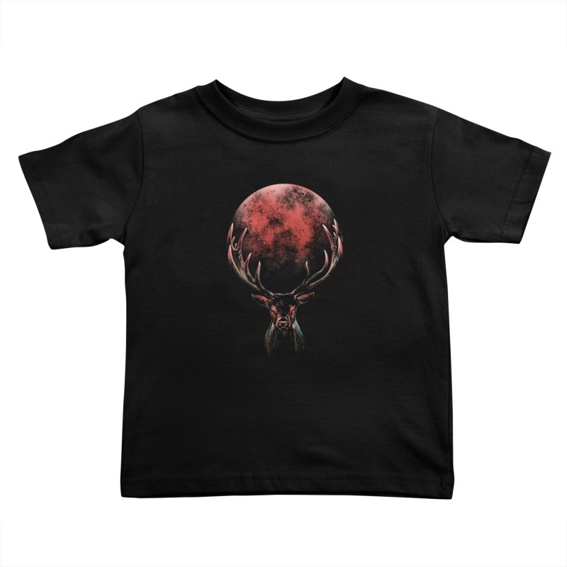 FULL MOON Kids Toddler T-Shirt by Winterglaze's Artist Shop