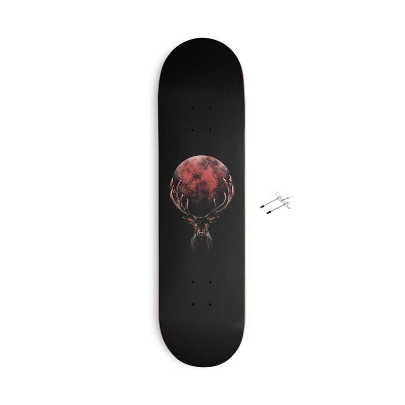FULL MOON Accessories Skateboard by Winterglaze's Artist Shop