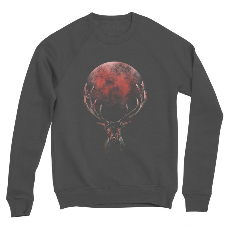 FULL MOON Women's Sponge Fleece Sweatshirt by Winterglaze's Artist Shop
