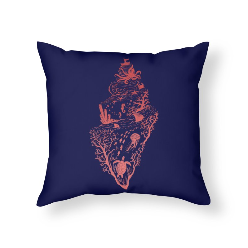 The Great Adventure Home Throw Pillow by Winterglaze's Artist Shop