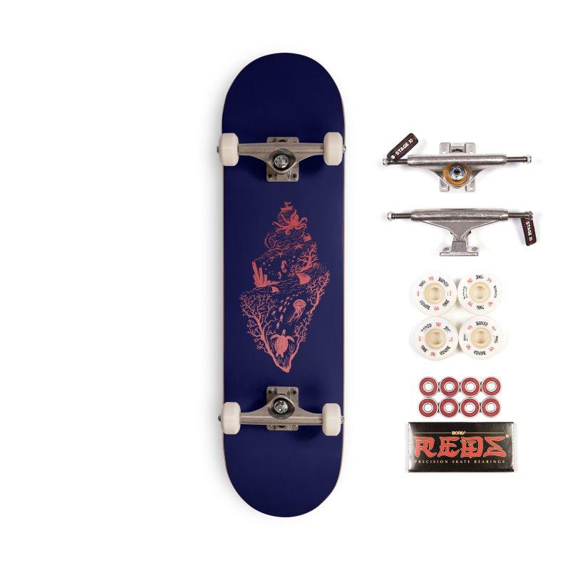 The Great Adventure Accessories Complete - Pro Skateboard by Winterglaze's Artist Shop